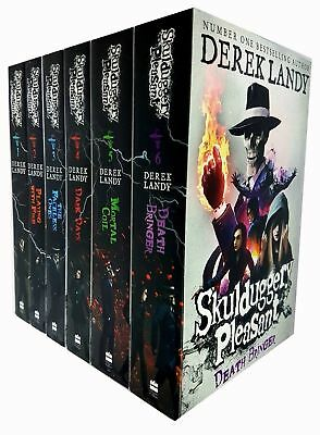 Derek Landy Collection Skulduggery Pleasant Series (1-6) Dark Days 6 Books Set