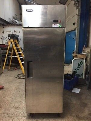 Atosa Commercial Stainless Steel Upright Single Door Freezer Catering