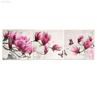 1B2D 132D 2017 Floral Pictures Paint By Number DIY Art Wall Hanging Joint Canvas