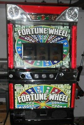 Quarter / Token Pachislo Fortune Wheel Slot Machine / 297 Pg Manual