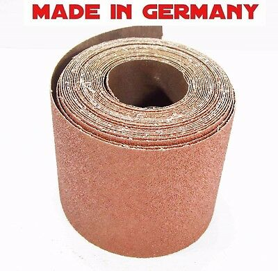Ekamant, 6in x 25f Roll, 36 Grit, strong cloth backing, Aluminum Oxide Sandpaper