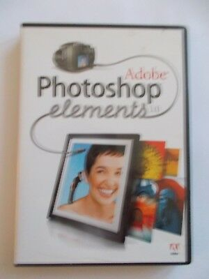 - Adobe Photoshop Elements 3.0 [Pc Cd-Rom] Aussie Seller [Now $64.75]