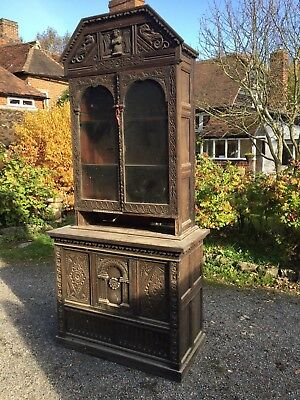 Carved oak (Pannelling) Dresser