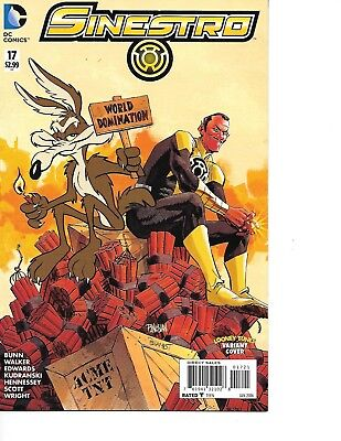 Sinestro #17 Cover B Variant WB Animation DC  Looney Tunes Cover