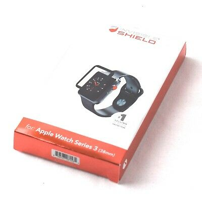 Zagg InvisibleShield Glass Curve Elite for Apple Watch Series 3 (38mm) - 290kh