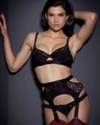 AGENT PROVOCATEUR LARETTA Bra And Brief Set Size 34Dd Medium   Ap3 ... 6939e68c7