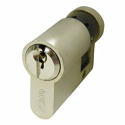 Iseo 5 Pin Euro Single Cylinder 40mm 30/10 Nickel Plated