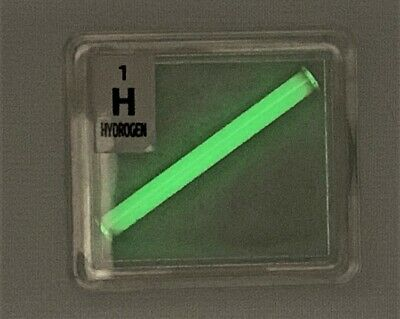 Tritium gas Tube Pure Element Sample Hydrogen isotope in Periodic Element Tile