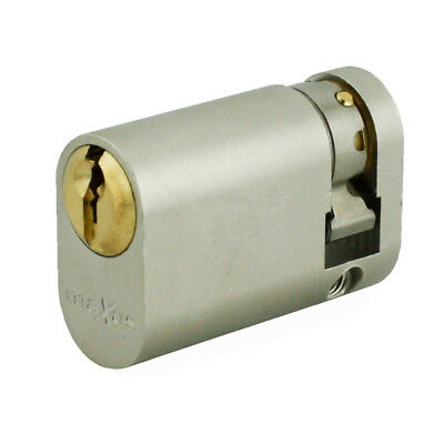 Maxus Pro 6 Pin Single Oval Cylinders 40mm