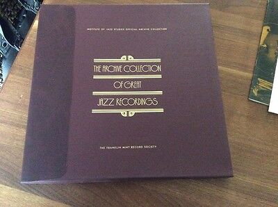 The Archive Collection of Great Jazz Recordings //4LPs Jazz Milestines