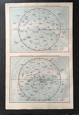 Map Of The Constellations 1899