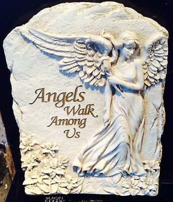 Latex Mould for making stunning Angel Plaque