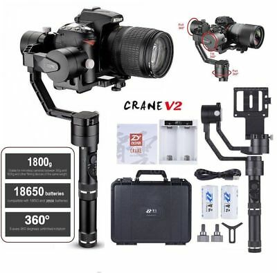 Zhiyun Crane V2  | 3-Axis Gimbal for Mirrorless & DSLR Cameras New Open Box A++