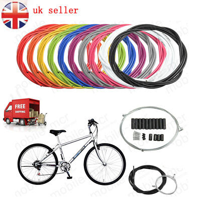 Jagwire Front Rear Brake Gear Cable Set Inner Outer MTB Mountain Bike Bicycle UK