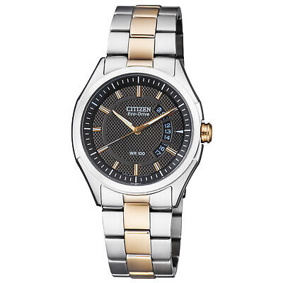 Citizen HTM Grey Dial Stainless Steel Men's Watch AW1146-55H