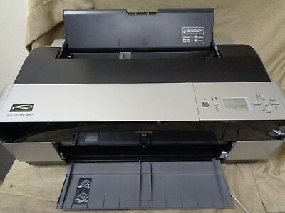 Epson Stylus Pro 3880 Color Inkjet Printer 851 page count