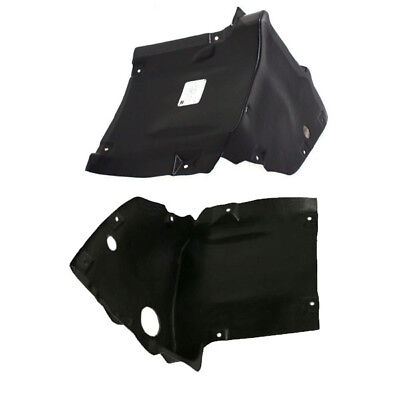 New Set Of 2 LH /& RH Side Front Inner Fender Splash Shield Liner Fits Montero