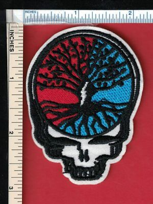 GRATEFUL DEAD Sew On/Iron On Patch 'Tree of Life' Steal Your Face; syf; stealie