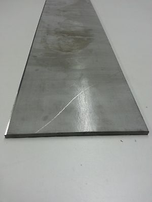 "Stainless Steel Flat Bar 1/4"" x 3"" Type 304  x 24"""