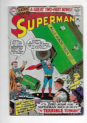 Lot of 6 Superman Comics #182, #185, #188, #189, #192, #206 Priced to Sell