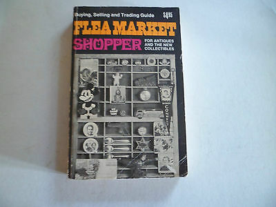 Flea Market Shopper by Ralph DeVincenzo - 1972  illust 320pp antiques + collect