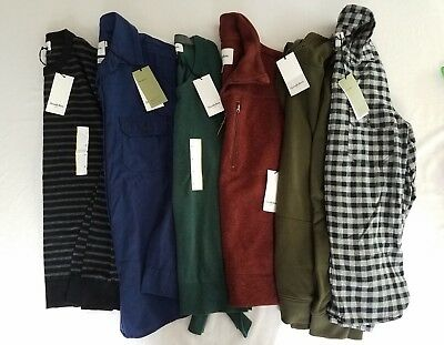 Men's Goodfellow & Co. size Small shirts, sweaters lot of 6 NWT