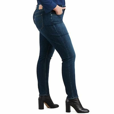 NEW Levi's Woman 711 Mid Rise Vintage Soft Skinny Jeans Size 20W M $54.50 MSRP