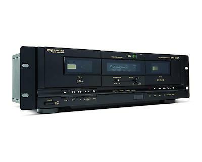Marantz Professional - PMD-300CP - Dual Cassette Deck with USB