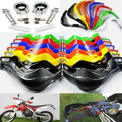 "Motorcycle Hand Guard Protector Universal Moto Dirt Bike ATV 7/8"" 22mm Handlebar"