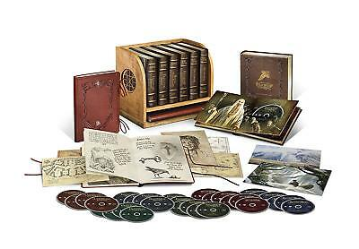 MIDDLE EARTH SAGA: Lord of the Rings + The Hobbit Trilogy Collection Blu-Ray New