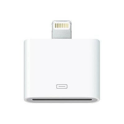 Genuine Apple Lightning to 30-pin Adapter for iPads, iPhone MD823ZM/A A1468