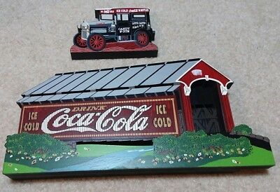 Shelia's COVER YOUR THIRST Drink COCA COLA- and REFRESHING DELIVERY TRUCK 1998