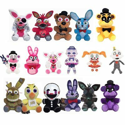 NEW Five Nights at Freddy's FNAF Horror Game Plush Doll Kids Plushie Toy Gift 7""