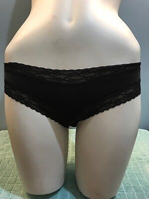 3 Vintage VICTORIA'S SECRET BEAUTIFUL Thong & Cheekiest PANTIES Size Small