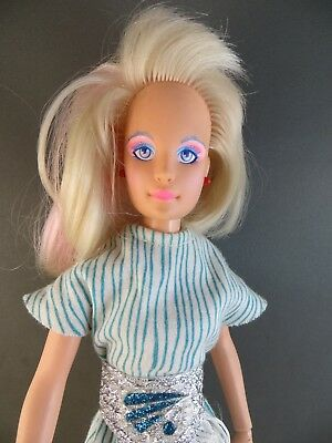1980's 1985 Hasbro JEM/JERRICA of the Holograms Original Outfit Doll 4000 #126