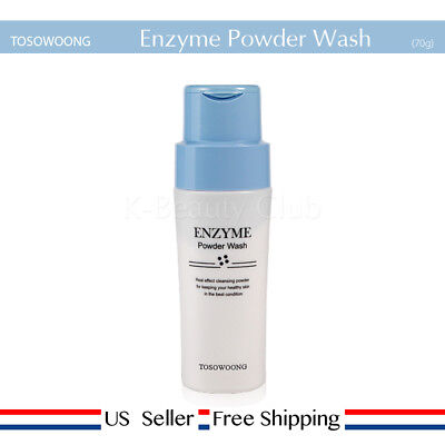 TOSOWOONG Enzyme Powder Wash 70g + Free Sample [US Seller]