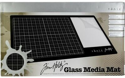 Tim Holtz 'GLASS MEDIA MAT' Mixed Media Tonic Studio