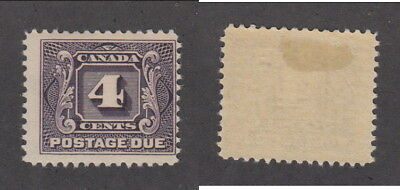 Mint Canada 4 Cent Postage Due Stamp #J3 (Lot #14525)