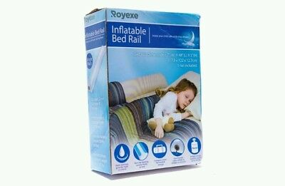Royexe Original Bed Rails for Toddlers. Portable Rail Bumper. Kids Inflatable