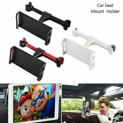 Universal 360 Rotate Car Seat Back Headrest Mount Holder Mobile iPad Tablet GPS