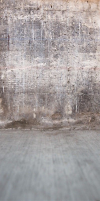 Old gray Concrete Wall Photo Backdrop 10x20ft Background Studio Photography Prop