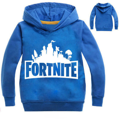 Fortnite hoody Jumper hoodie blue Sizes 9/10 & 11/12 Available game