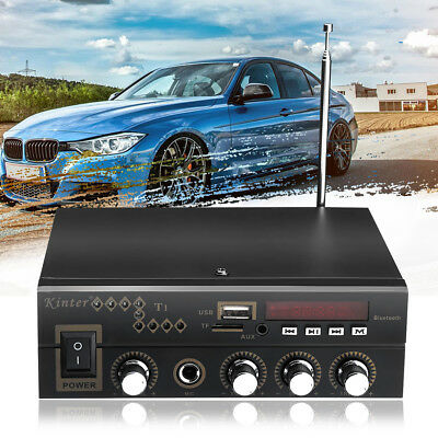 600 Watt Digital Bluetooth Stereo Audio Amplifier AMP SD USB FM Mic Home 220V AU