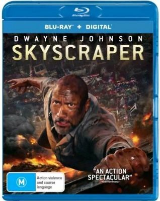 Skyscraper Blu-ray BRAND NEW SEALED AUSTRALIAN