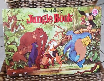Tampon encreur Ancien walt Disney Jungle Book Le Livre De La Jungle complet