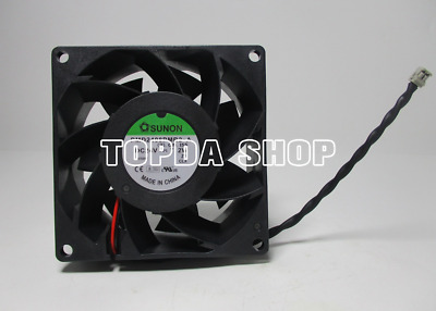 SUNON PMD2408PMB2-A Inverter cooling fan DC24V 7.2W 80×80×38mm 2pin