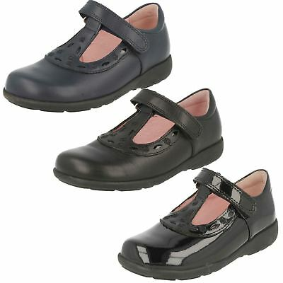Girls Startrite T Bar Shoes In Purple Patent Leather /'Pixie/' G/&H Width Fitting