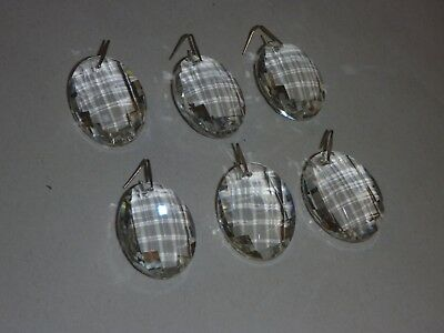 Crystal Chandelier Pendants Prisms Parts For Crystal Chandelier Multifaceted