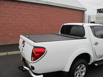 Mitsubishi L200 2010-2014 Double Cab Long Bed Armadillo Roll Top Cover