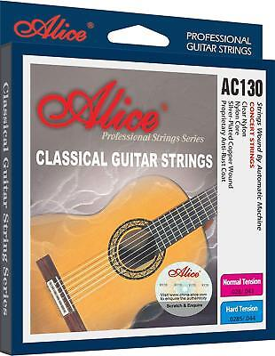 Set of 6 Alice Classic Guitar Strings Silver-plated Copper Replacement Strings